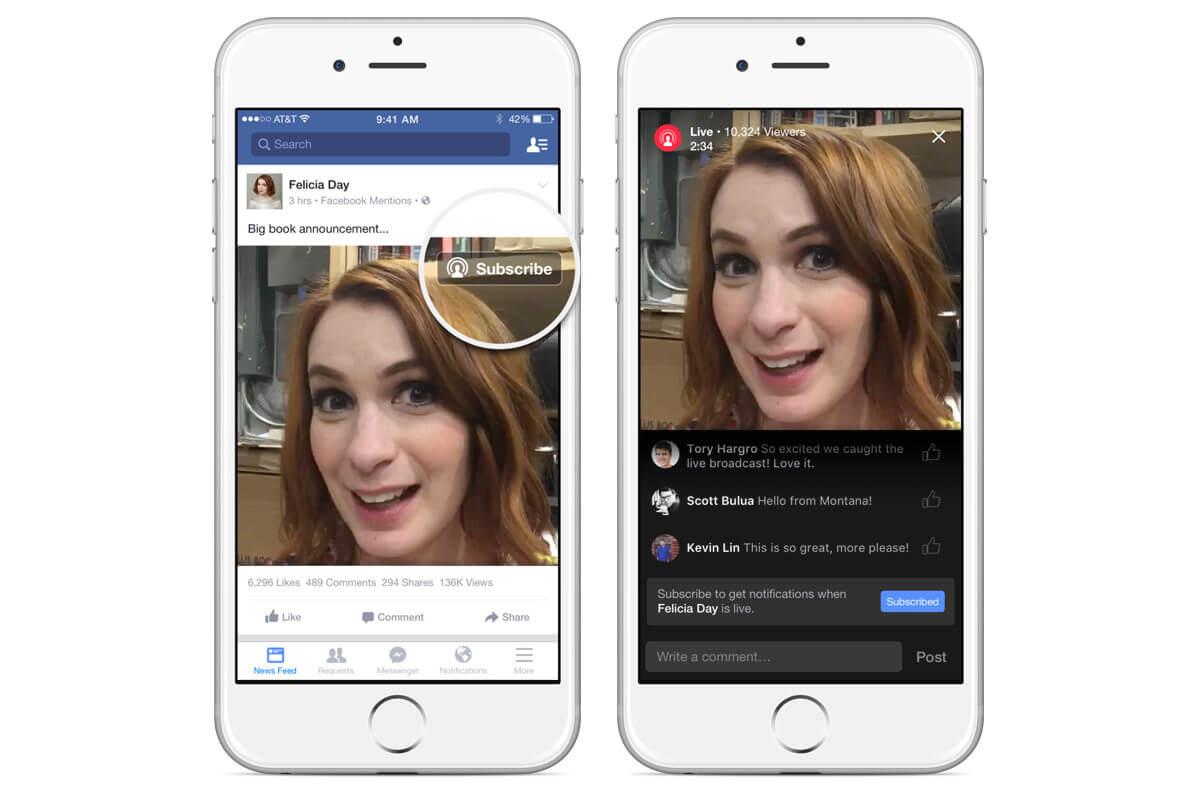facebook live instellen