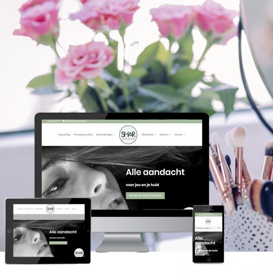 ontwerp-webdesign-shar-schoonheidssalon-leeuwarden